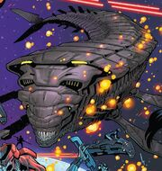 Leviathans (Chitauri) from U.S.Avengers Vol 1 6 001