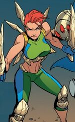 Marrow (Sarah) (Earth-92131) from X-Men '92 Vol 2 7 001