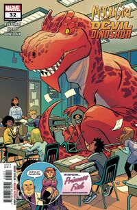 Moon Girl and Devil Dinosaur Vol 1 32 Second Printing Variant