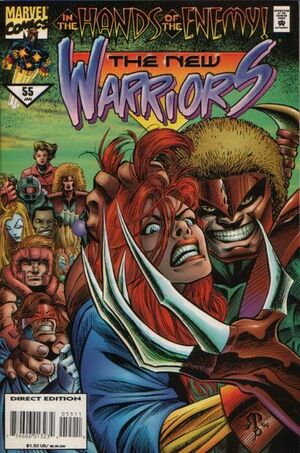 New Warriors Vol 1 55