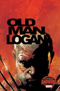 Old Man Logan Vol 1 1 Sorrentino Variant Textless