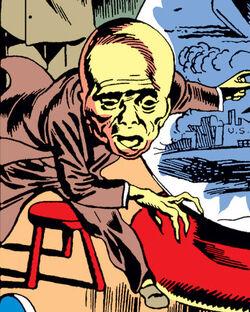 Omar (Sando) (Earth-616) from Captain America Comics Vol 1 0001