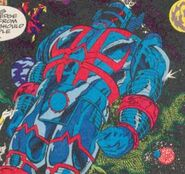 Red-Blue Judge (Earth-616) from Fantastic Four Annual Vol 1 26 0001