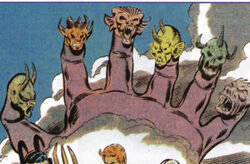 Six-Fingered Hand (Earth-616) from Official Handbook of the Marvel Universe Mystic Arcana The Book of Marvel Magic Vol 1 1