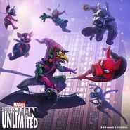 Spider-Ham Family (Earth-TRN461) from Spider-Man Unlimited (video game) 004