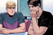 William Kaplan (Earth-616) and Theodore Altman (Earth-616) from Young Avengers Vol 2 2 002