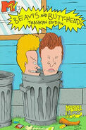 Beavis and Butthead TPB Vol 1 2 Trashcan Edition
