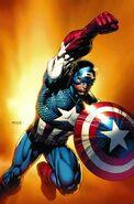 Captain America Reborn Vol 1 5 Finch Variant Textless