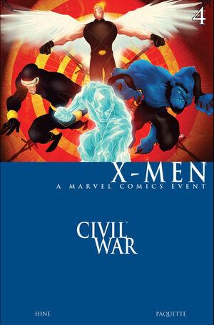 Civil War X-Men Vol 1 4