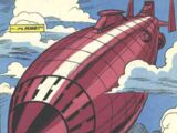 Flying Fortress (Doctor Doom)/Gallery