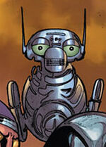 Humanoid Experimental Robot B-Type Integrated Electronics (Earth-10011) from Thanos Imperative Vol 1 3 0001