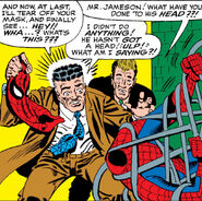John Jonah Jameson, Spencer Smythe, Spider-Slayer Mark I (Earth-616) from Amazing Spider-Man Vol 1 25