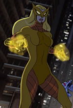 Karla Sofen (Earth-12041) as Meteorite in Marvel's Avengers Assemble Season 3 5