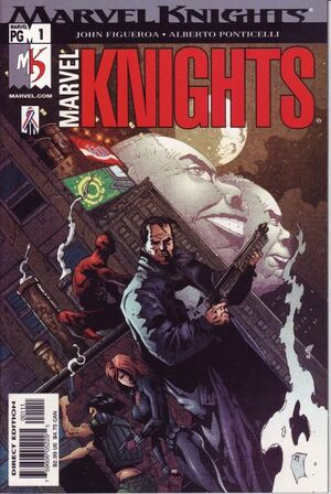 Marvel Knights Vol 2 1