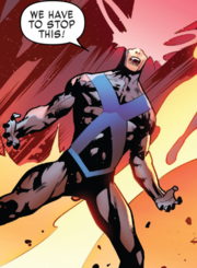 Scott Summers (Time-Displaced) (Earth-TRN727) from X-Men Blue Vol 1 27 001