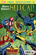 True Believers Marvel Knights 20th Anniversary - Hellcat The First Appearance Vol 1 1