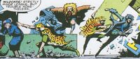 Wildcats (Earth-5555) from Dragon's Claws Vol 1 1 0001