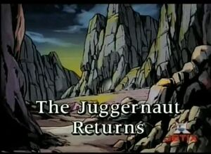 X-Men The Animated Series Season 3 17 Screenshot