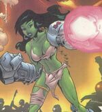 Alice Farrell (Earth-10199) from Marvel Universe Millennial Visions Vol 1 1 001