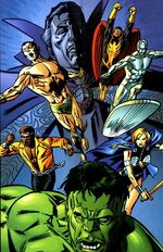 Defenders (Earth-9997) Universe X Vol 1 1