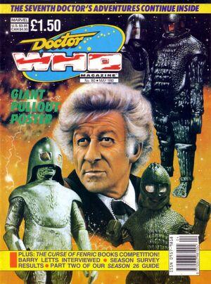 Doctor Who Magazine Vol 1 160