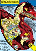 Dragon of Death from Captain America Comics Vol 1 5 002