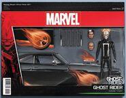 Ghost Rider Vol 8 1 Action Figure Wraparound Variant