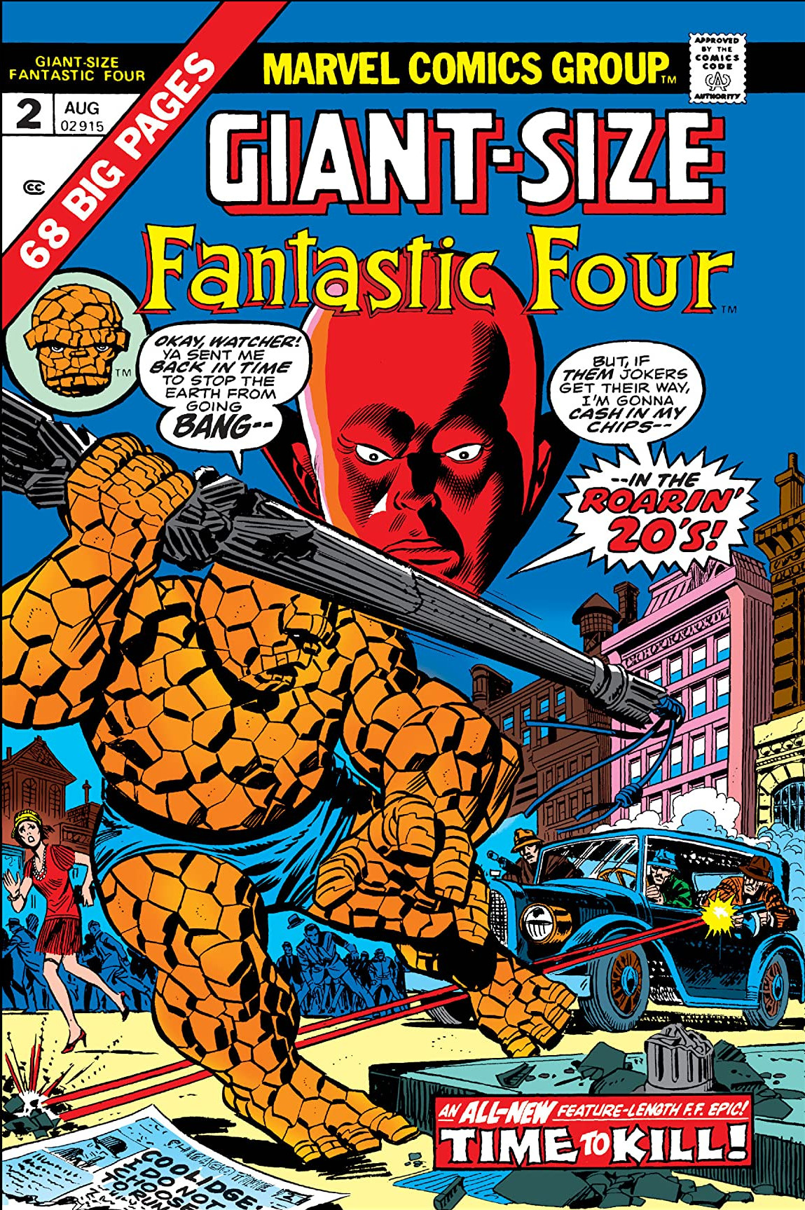 Image result for Giant-Size Fantastic Four #2