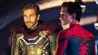 """New SPIDER-MAN FAR FROM HOME """"Mysterio & Spider-Man"""" Clip"""