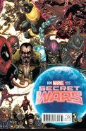 Secret Wars Vol 1 8 Bianchi Connecting Variant