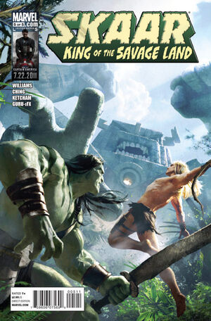 Skaar King of the Savage Land Vol 1 5