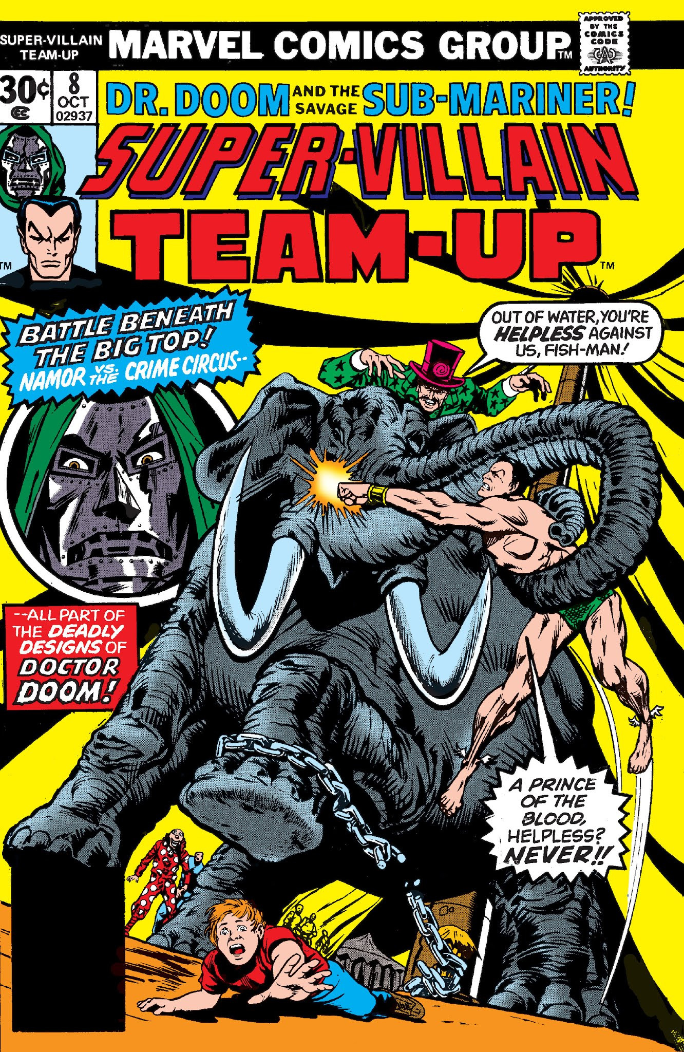 Super-Villain Team-Up Vol 1 8