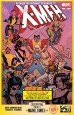 X-Men (Earth-72721) from Marvel 75th Anniversary Celebration Vol 1 1 0001