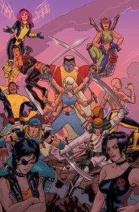 X-Men (Earth-72721) from Marvel 75th Anniversary Celebration Vol 1 1 0001