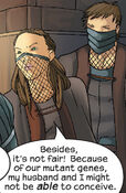 Alice Hayes (Earth-616) and Gene Hayes (Earth-616) from Runaways Vol 1 13 004