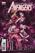 Avengers Vol 7 3 Tedesco Variant
