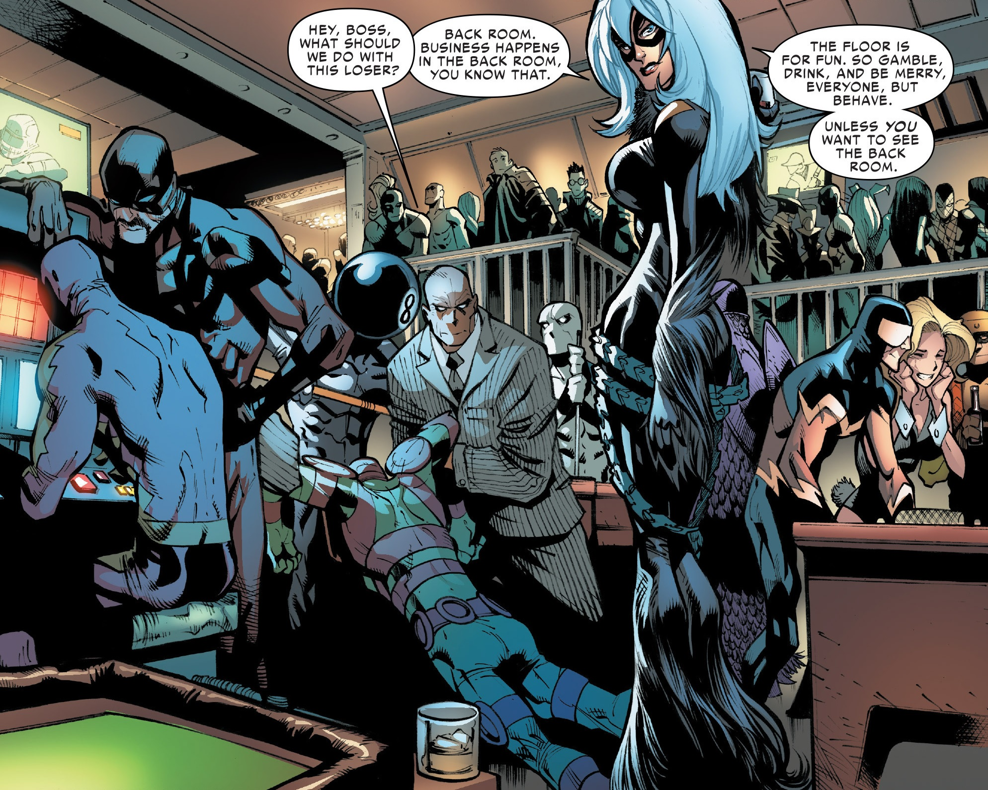 Image Black Cat S Gang Earth 616 From Amazing Spider Man Vol 3