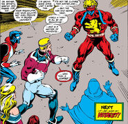 Brian Braddock (Earth-616) and Lightning Force (Earth-597) from Excalibur Vol 1 9