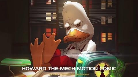 Howard the Mech Motion Comic Marvel Contest of Champions