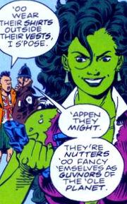 Jennifer Walters (Earth-Unknown) from Sensational She-Hulk Vol 1 50 0001