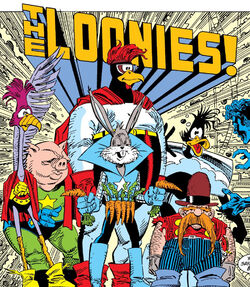Loonies (Earth-616) from Marvel Comics Presents Vol 1 31 001