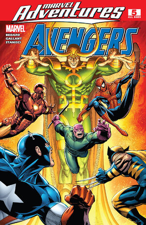 Marvel Adventures The Avengers Vol 1 5
