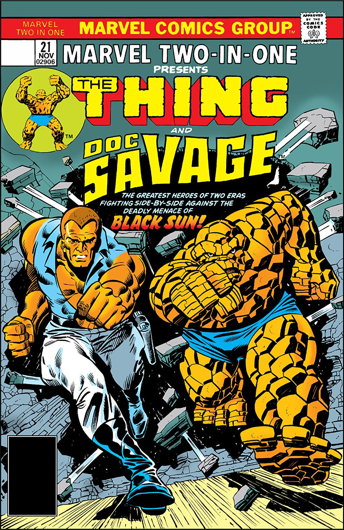 Marvel Two-In-One Vol 1 21