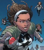 Monica Rambeau (Earth-10774) from Infinity Countdown Captain Marvel Vol 1 1 002