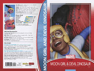 Moon Girl and Devil Dinosaur Vol 1 25 Trading Card Wraparound Variant