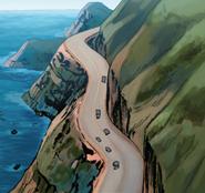 Pacific Coast Highway from X-Men Vol 4 5 001