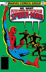 Peter Parker, The Spectacular Spider-Man Vol 1 59