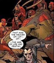 Spider-Army (Multiverse) and Inheritors (Earth-001) from Amazing Spider-Man Vol 3 14 001