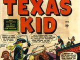 Texas Kid Vol 1 1
