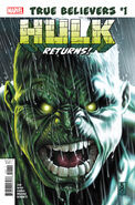 True Believers Hulk Returns Vol 1 1